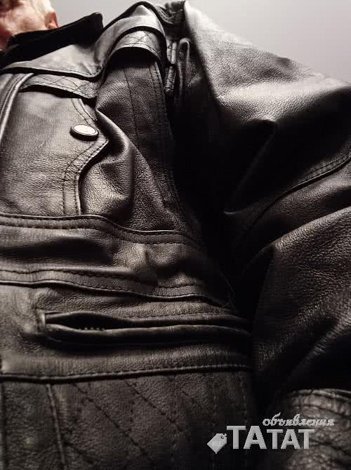 Куртка кожаная, Турция. Мужская