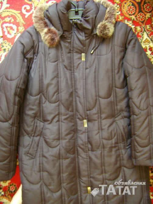 Пальто демисезонное на синтепоне с капюшоном