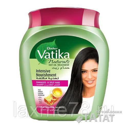Маска для волос интенсивное питание Дабур Ватика Dabur Vatika 500ml Индия